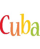 Cuba birthday logo