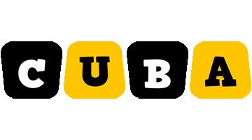Cuba boots logo