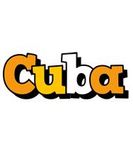 Cuba cartoon logo