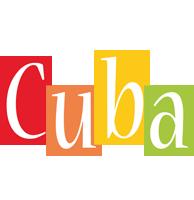 Cuba colors logo