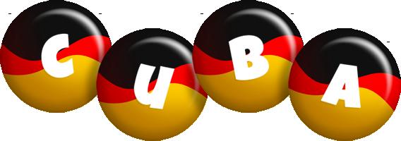 Cuba german logo