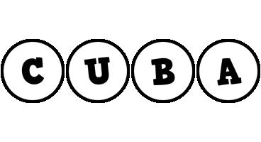 Cuba handy logo