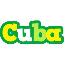 Cuba soccer logo