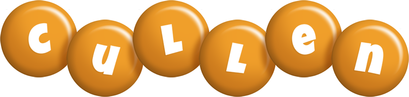 Cullen candy-orange logo