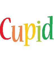 Cupid birthday logo