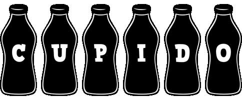 Cupido bottle logo