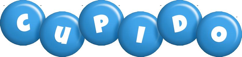 Cupido candy-blue logo