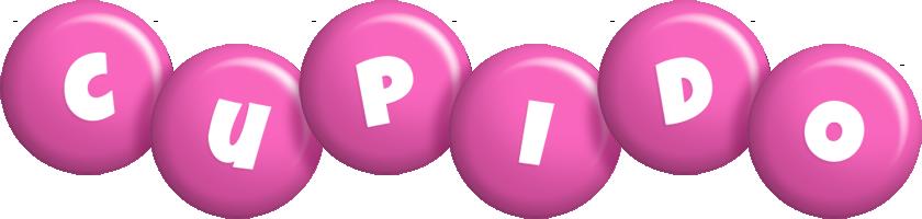 Cupido candy-pink logo