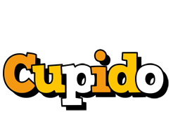 Cupido cartoon logo
