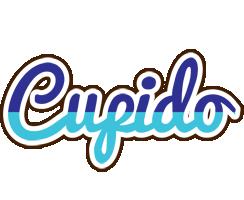 Cupido raining logo