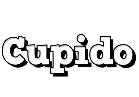 Cupido snowing logo
