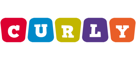 Curly daycare logo