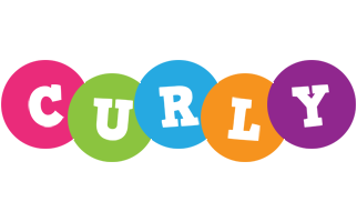Curly friends logo