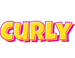 Curly kaboom logo