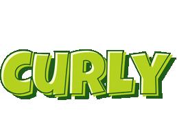Curly summer logo