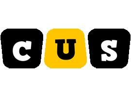 Cus boots logo