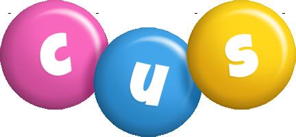 Cus candy logo