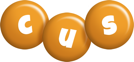 Cus candy-orange logo
