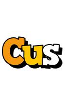 Cus cartoon logo