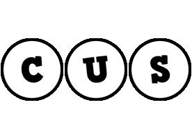 Cus handy logo