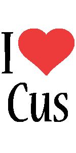 Cus i-love logo