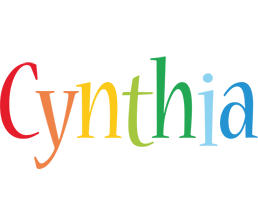 Cynthia birthday logo