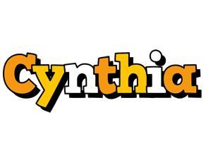 Cynthia cartoon logo