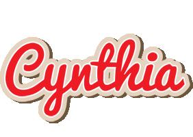 Cynthia chocolate logo