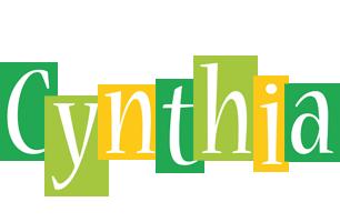Cynthia lemonade logo
