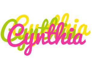 Cynthia sweets logo