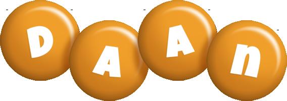 Daan candy-orange logo