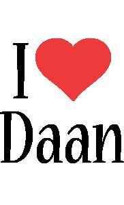 Daan i-love logo