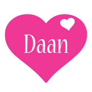 Daan love-heart logo