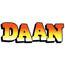 Daan sunset logo