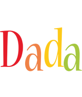 Dada birthday logo