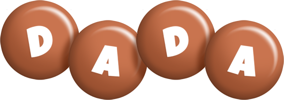 Dada candy-brown logo