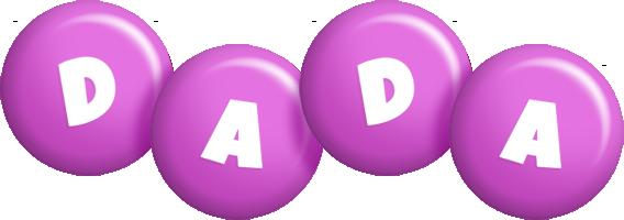 Dada candy-purple logo