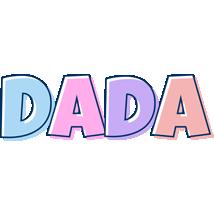 Dada pastel logo