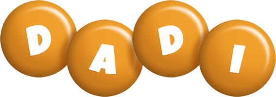 Dadi candy-orange logo