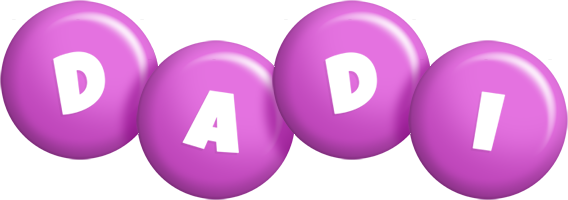 Dadi candy-purple logo