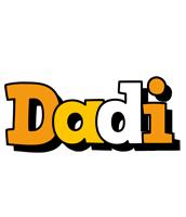 Dadi cartoon logo