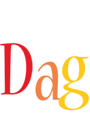 Dag birthday logo