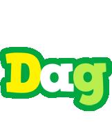 Dag soccer logo