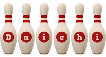 Daichi bowling-pin logo