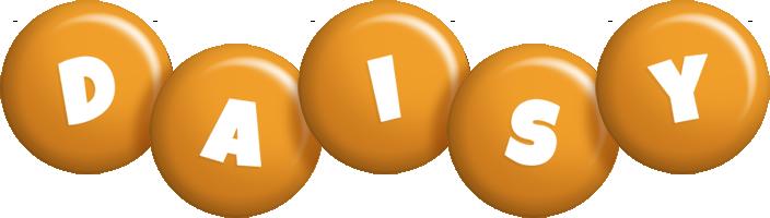 Daisy candy-orange logo