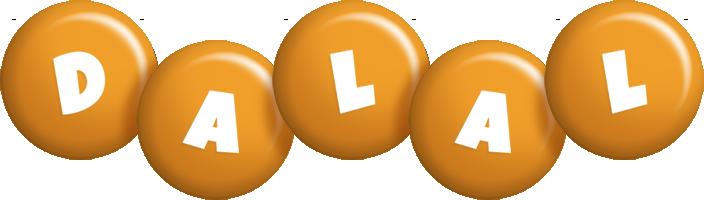 Dalal candy-orange logo