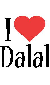 Dalal i-love logo