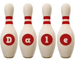 Dale bowling-pin logo