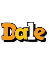 Dale cartoon logo