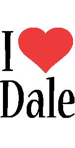 Dale i-love logo